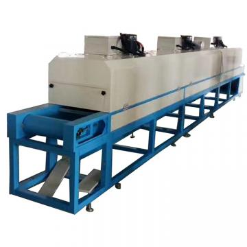 Large Industrial Continuous Microwave Belt Conveyor Dryer