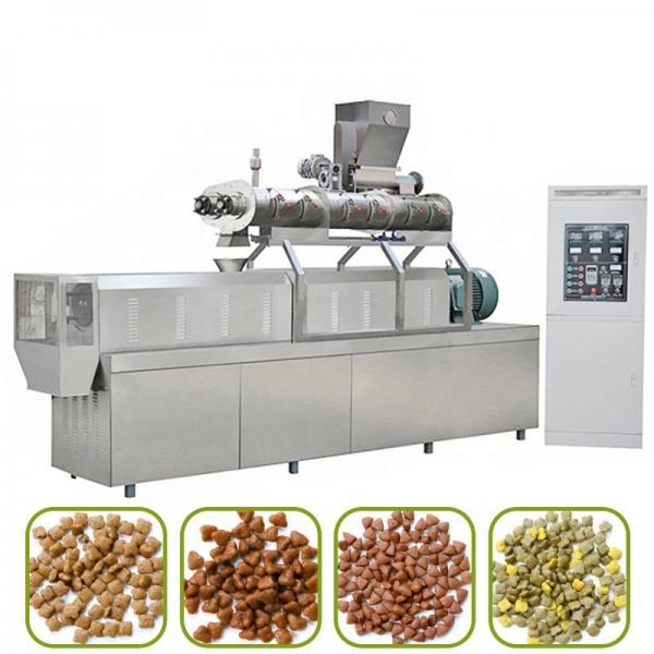 1 Ton Per Hour Turnkey Business Plan Small Animal Poultry Pet Food Pellet Processing Plant Project Uses Floating Fish Feed Pellet Production Line #1 image