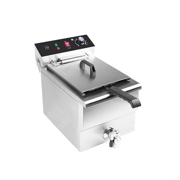 High Quality Stainless Steel Commercial General Electric Deep Fat Fryer #1 image