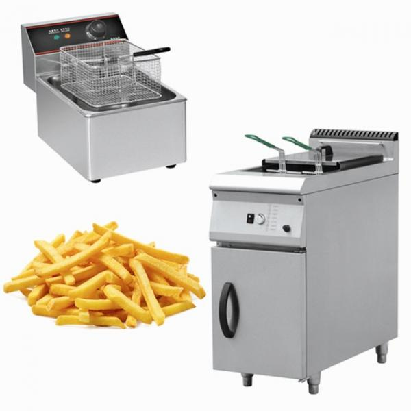 Stainless Steel Electric Commercial Deep Pressure Fryer #1 image