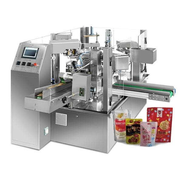 Automatic Medical Cannabis Multihead Weighing Packing Packaging Machine for Premade Bag #1 image
