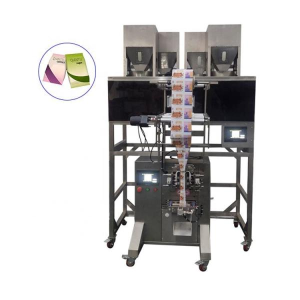 Automatic Potato Chip / Banana Chips/French Fries/Candy / Nut / Snacks / Popcorn Pouch Weighing Systems Food Packaging Packing Machine Price #1 image